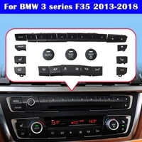 for bmw 3 series f35 2013 2018 air conditioner button audio cd digital seat heating switch knob cover