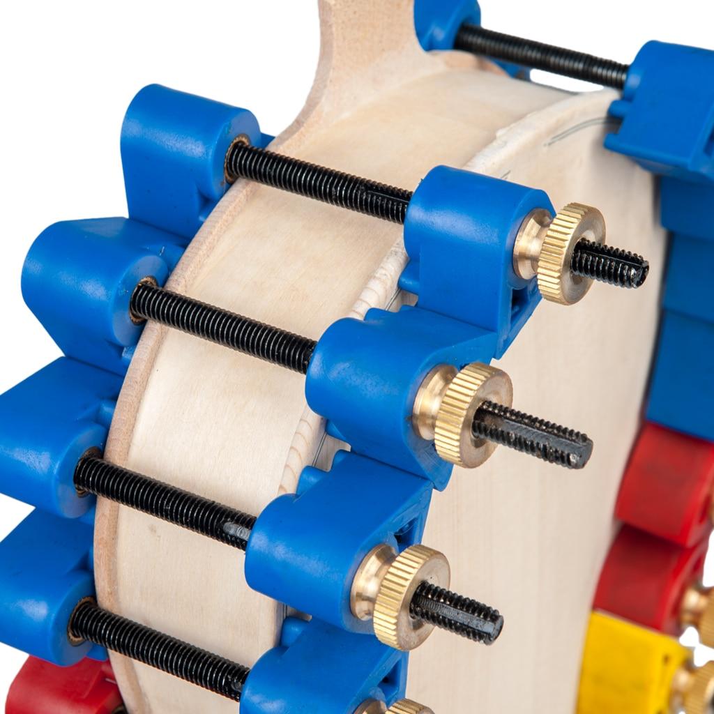 NAOMI 32PCS Violin Glue Clamps Set Violin/Viola Top & Back Clamps Metal Stick DIY Violin Use Violin Repair Tool enlarge