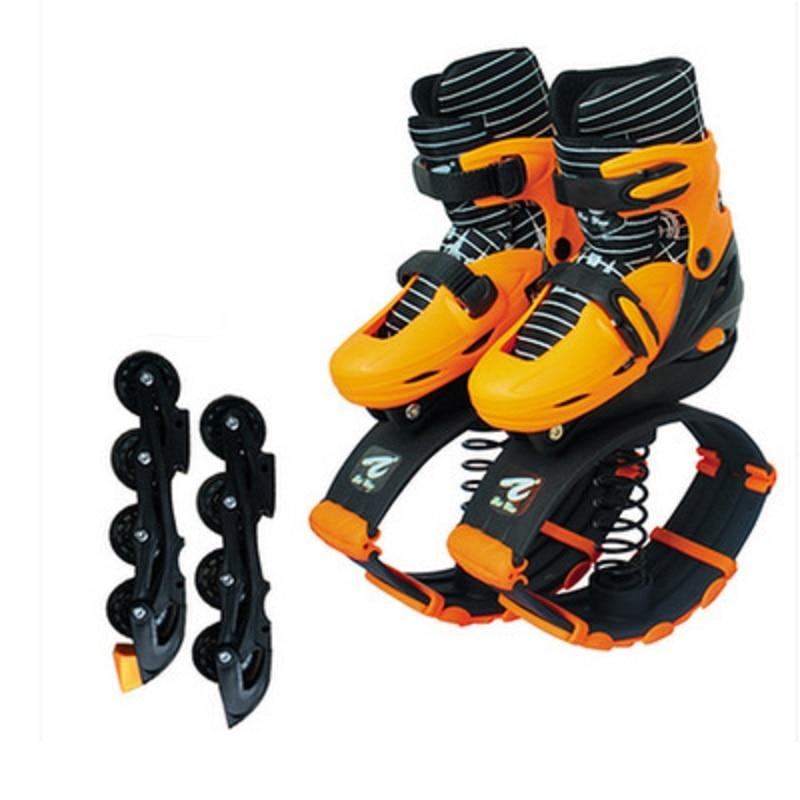 2 in 1 Adult Children Inline Skates Jump Fitness Exercise Adjustable Breathable Patines Multifunctio Kids Teenager Sneakers enlarge