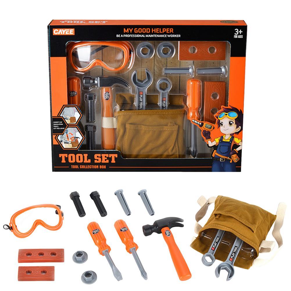 Набор инструментов для ремонта, Набор строительных инструментов, игровой набор, аксессуары, отличный набор инструментов для игрушек для ма...