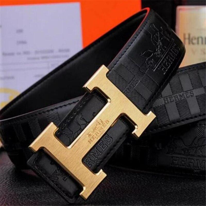 Designer Belts for Mens Women High Quality Genuine Leather Belt Luxury Brand Waist Jeans Ceinture wi