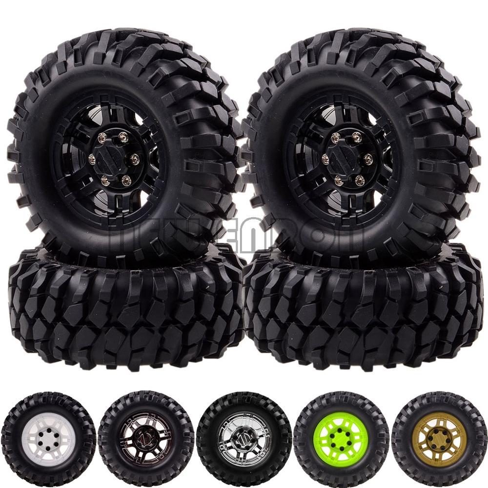 NEW ENRON 4P 1.9 Beadlock Wheel Hub Rims & 108MM Tyre Tires RC 1:10 1/10 Rock Crawler For Gmade Axial SCX10 SCX10 II 90046 90047