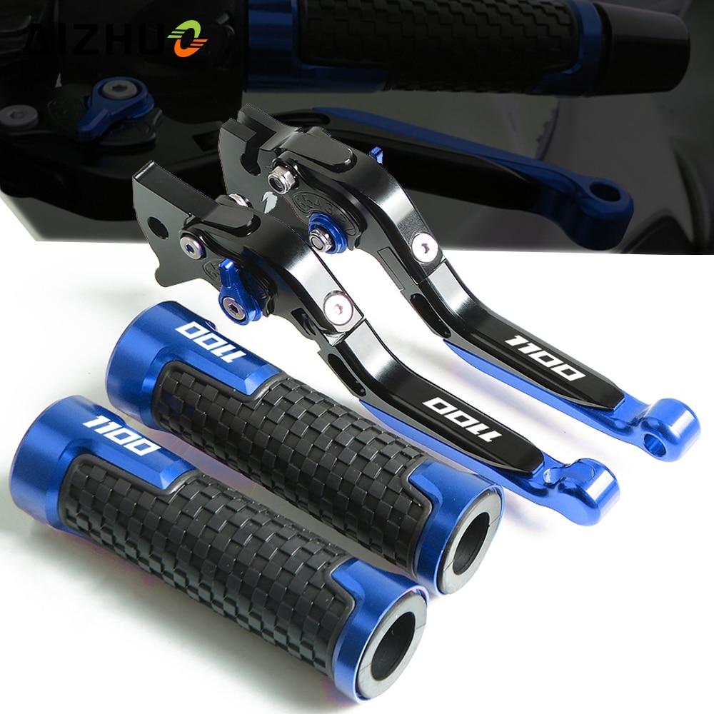 Palanca de embrague de freno de motocicleta ajustable + manillar de mano para GSXR1100 SUZUKI GSX R 1100 GSX-R 1100 1989-1998 1997 1996 1995