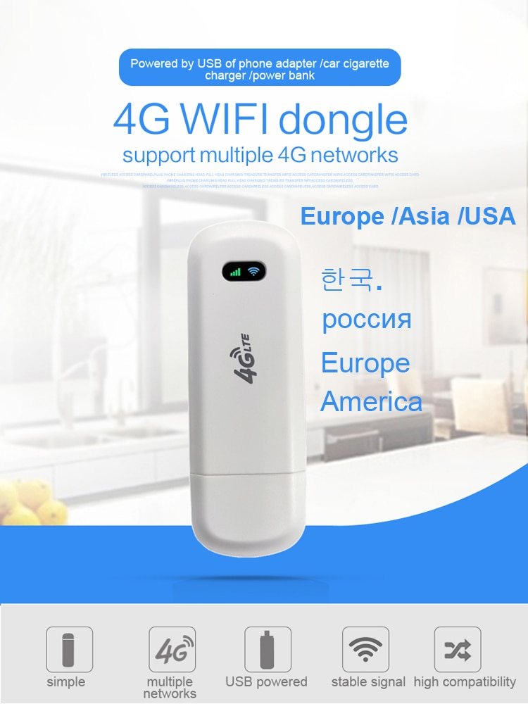 LDW922 4G wi-fi router dongle ، هوائي CPE ، مودم لاسلكي LTE USB ، نانو ، فتحة بطاقة SIM ، نقطة وصول للجيب