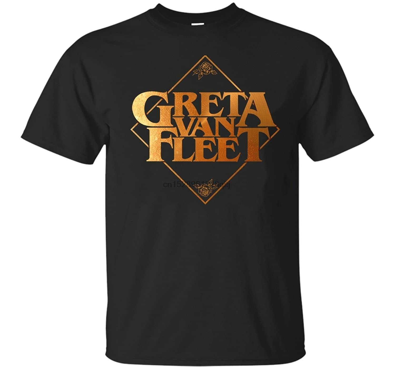 Greta Van Fleet Tshirt - Unisex Black