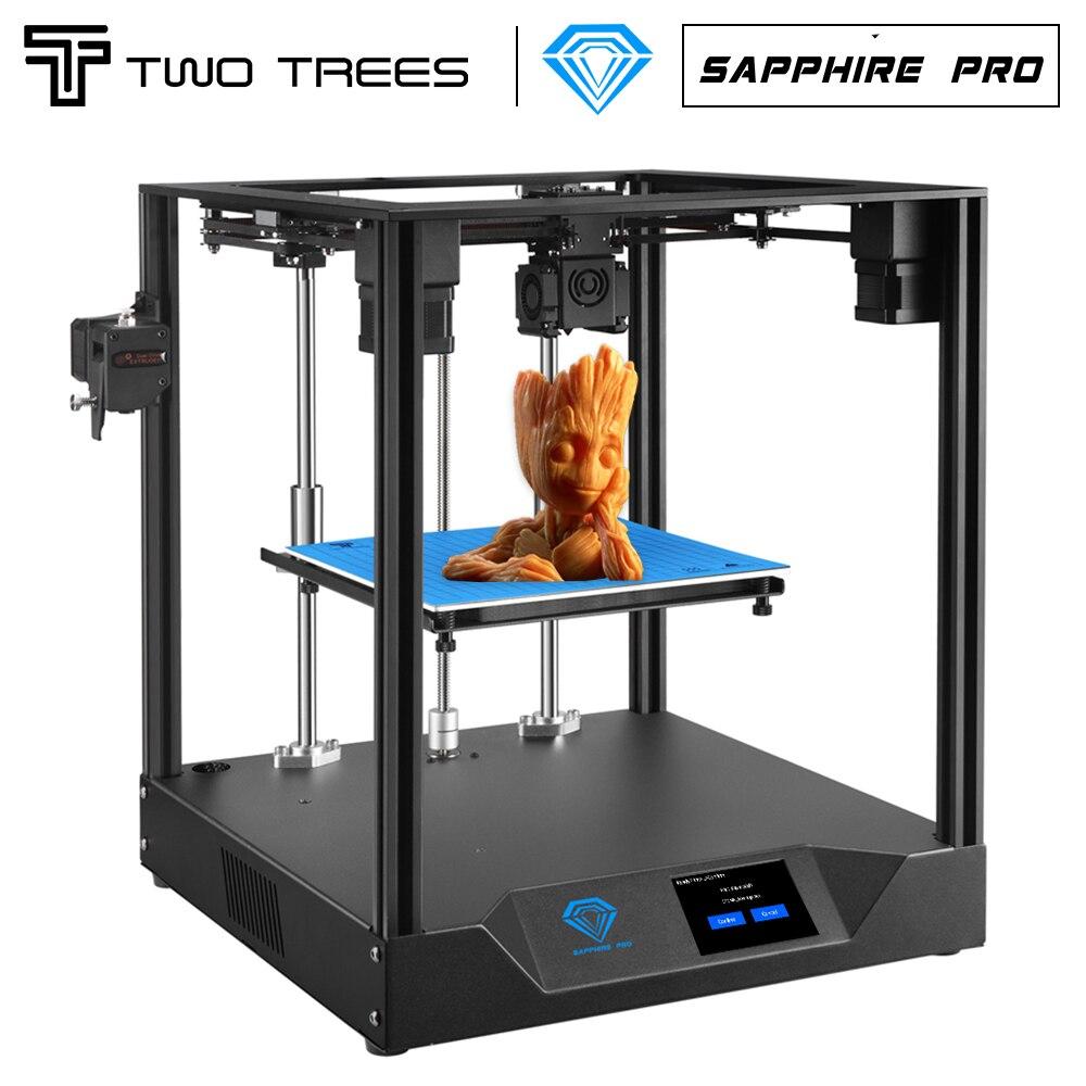 Twotree طابعة ثلاثية الأبعاد الياقوت برو Upgrad نسخة من استئناف انقطاع التيار الكهربائي الطباعة الخطي السكك الحديدية BMG 235X235 طباعة كبيرة Facesheid