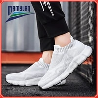mens lightweight shoes couple casual shoes running shoes breathable tennis shoes comfortable flat shoes for women size 36 46
