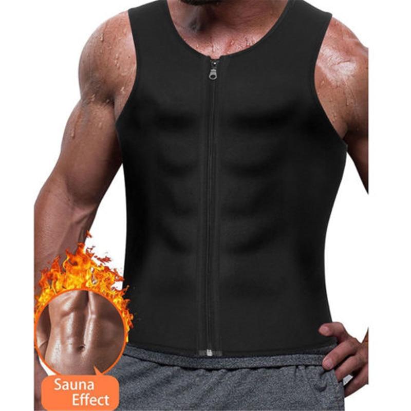 Gym Tank Top Men Bodybuilding Men Gym Neoprene Sauna Debardeur Homme Vest Sauna Ultra Sweat Shirt Body Shaper Slimming Tank