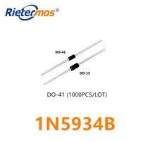 1000PCS  1N5934BRLG  1N5934B   1N5934 DO-41