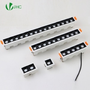 Dimmable LED Downlight Spot Light Indoor Recessed Lighting Linear bar Laser Blade Ceiling Line Lamp 2W 4W 10W 20W 30W CREE