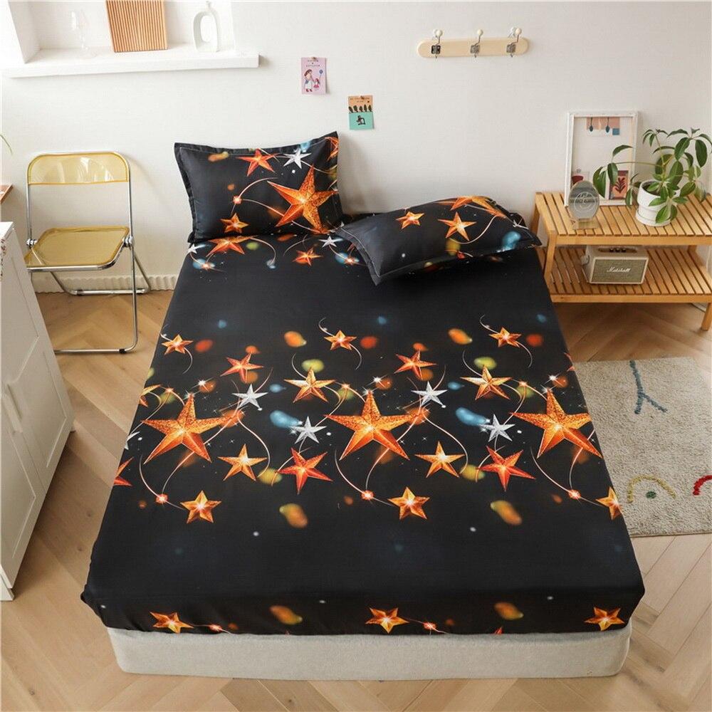 حار موضة الكرتون ستار الأطفال المجهزة ورقة ملاءات السرير غطاء 90*200*30 سنتيمتر المفرش جولة مطاطا 150*200*30 سنتيمتر