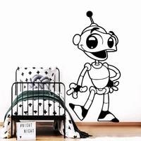 Autocollant dart mural robot  nouveau  a la mode  pour salon  chambre a coucher  decor de maison