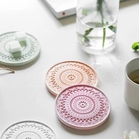cement coasters silicone mold coffee coasters molds patterned coasters dining room supplies diy handmade products tray mold