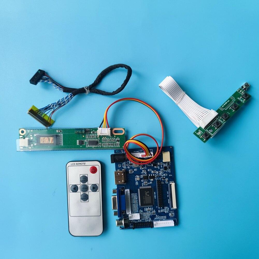 عدة العمل ل CLAA154WA04 1280x800 البعيد AV 30pin HDMI VGA شاشة رصد 2AV لتقوم بها بنفسك LVDS وحدة تحكم بشاشة إل سي دي مجلس سائق