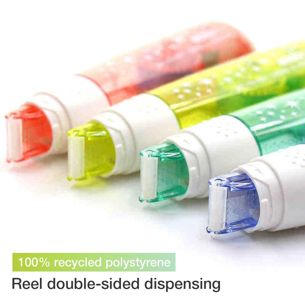 Cinta de doble cara asequible dispensadora de papel de plástico carrete Dot pegamento soporte Dropship