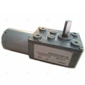 DC 24V 1.2RPM Gear Motor - High Torque Slow Motion Helical Gearbox ratio Reducer Motor