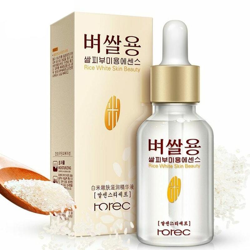 White Rice Face Serum Olive Rejuvenating Enzyme Solution Original Skin Nourishing Moisturizing Skin