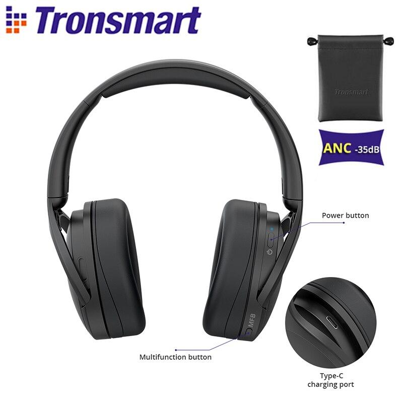 Tronsmart-auriculares inalámbricos Apollo Q10 con Bluetooth 5,0, dispositivo de audio con cancelación...