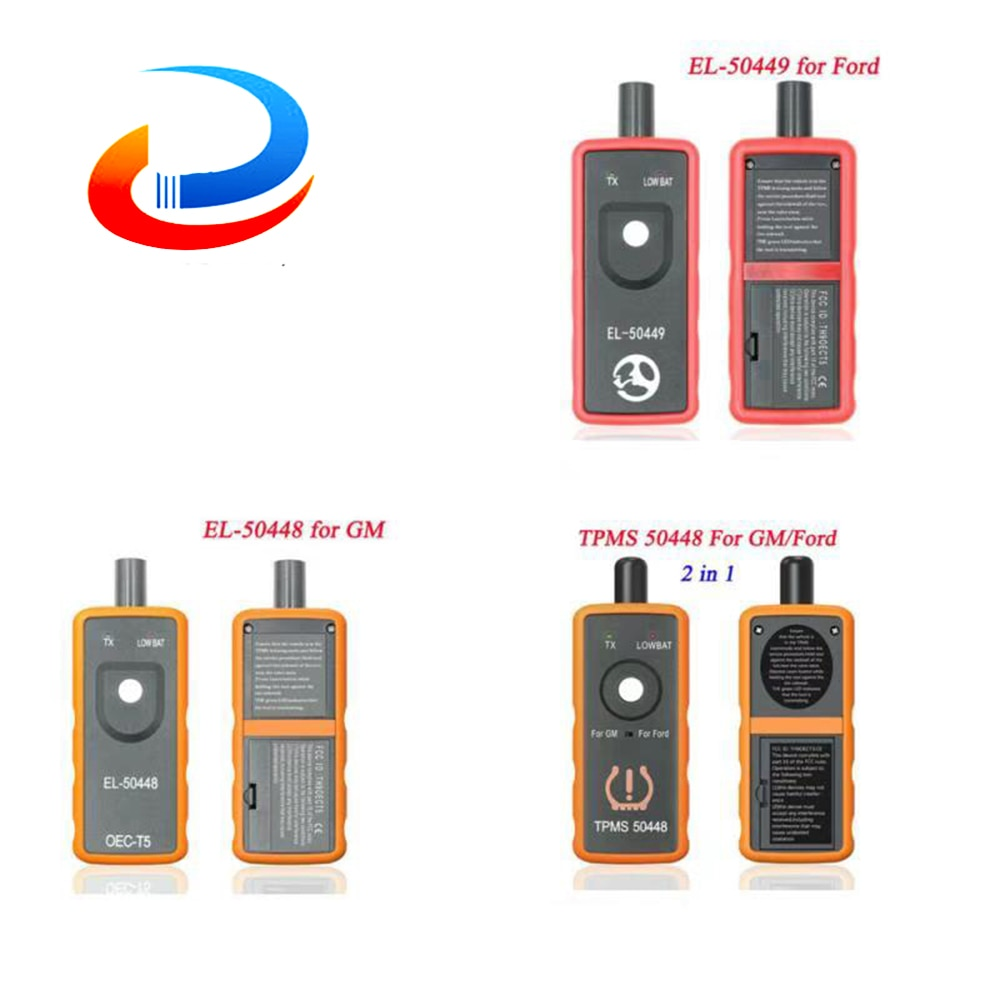 EL-50449 EL50449 TPMS لفورد EL 50448 EL-50448 لجنرال موتورز الاطارات مراقبة ضغط الاستشعار تفعيل أداة + OEC-T5 TPMS أداة ماسحة