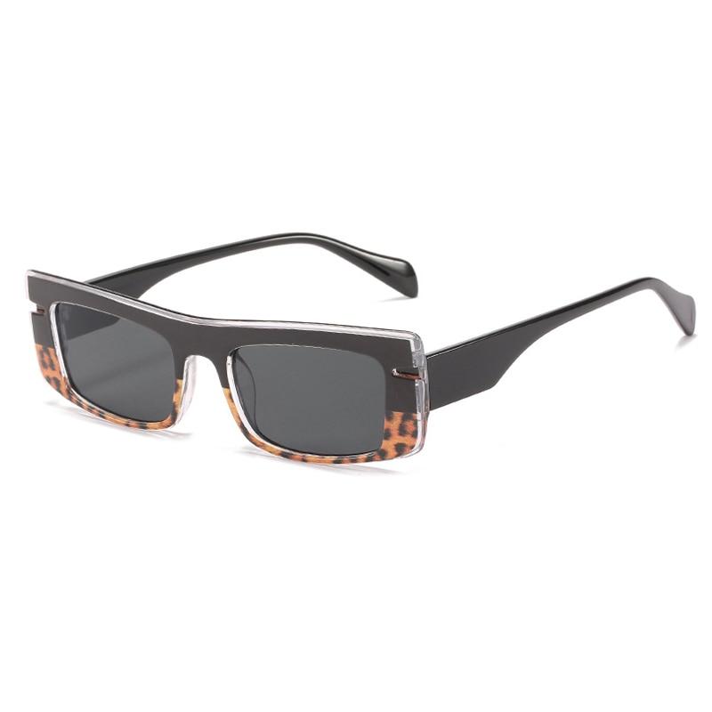 Vintage Steampunk Square Sunglasses Women Men Fashion Small Rectangle Sunglasses Female Shades UV400