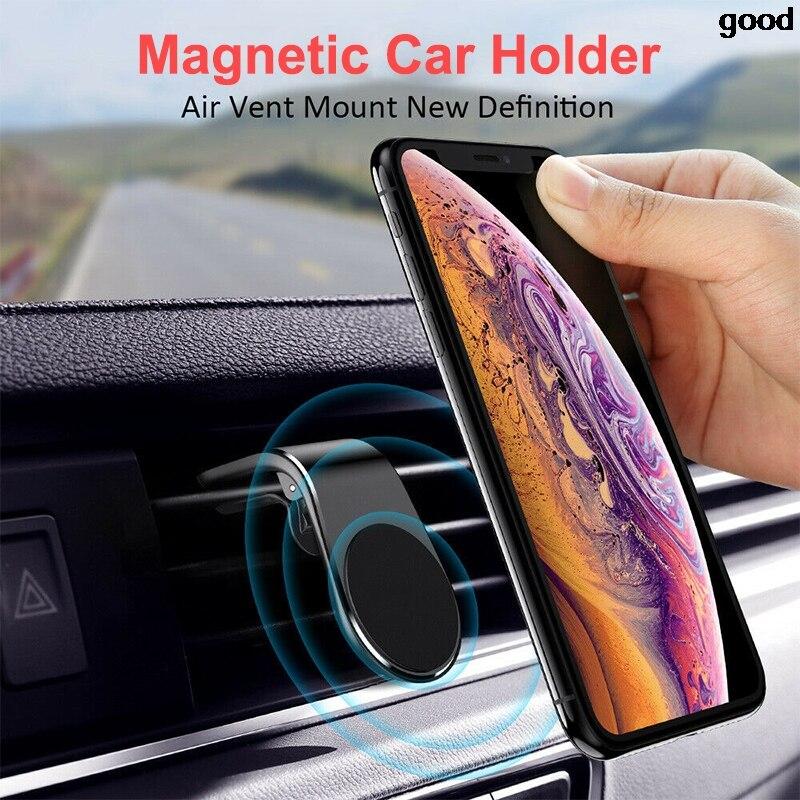 Soporte magnético de teléfono de coche, Mini Clip de rejilla de ventilación para Fiat 500 Opel Insignia Vectra c Suzuki Swift Sx4 Hyundai Ix35 Creta