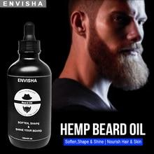 ENVISHA Growth Beard Oil Thicker Hair For Men Grooming Treatment Care Cleanse Refreshing Soft Shine