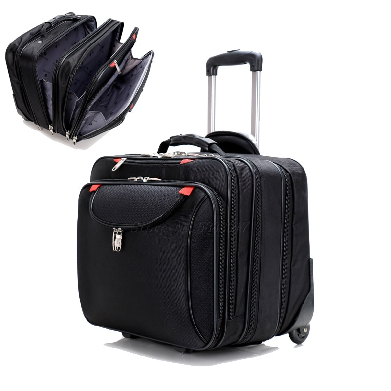 Oxford Traveling Trolley Case 18-Inch Trolley Case Cover Business Handheld Luggage Computer Suitcase