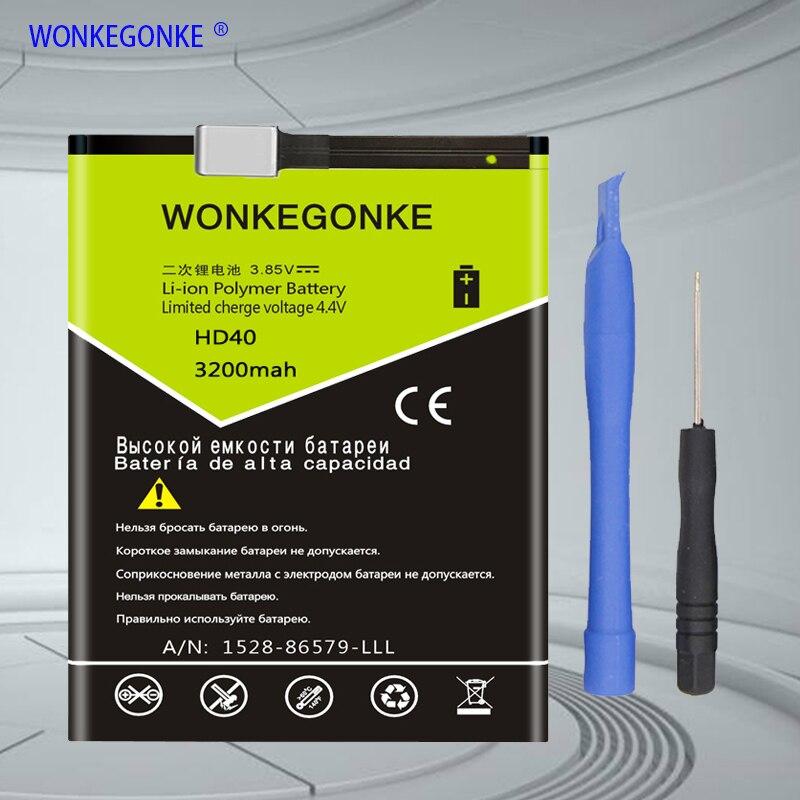 WONKEGONKE HD40, SNN5987A pour Motorola Moto Z Force 2nd, Moto Z Force 2nd gen, Moto Z2 Force, batterie de Bateria XT1789-01