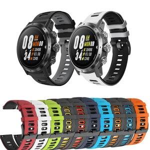 Silicone Correa Wrist Band for COROS APEX Pro / APEX 46mm /APEX42mm Strap Watchband Bracelet ремешок