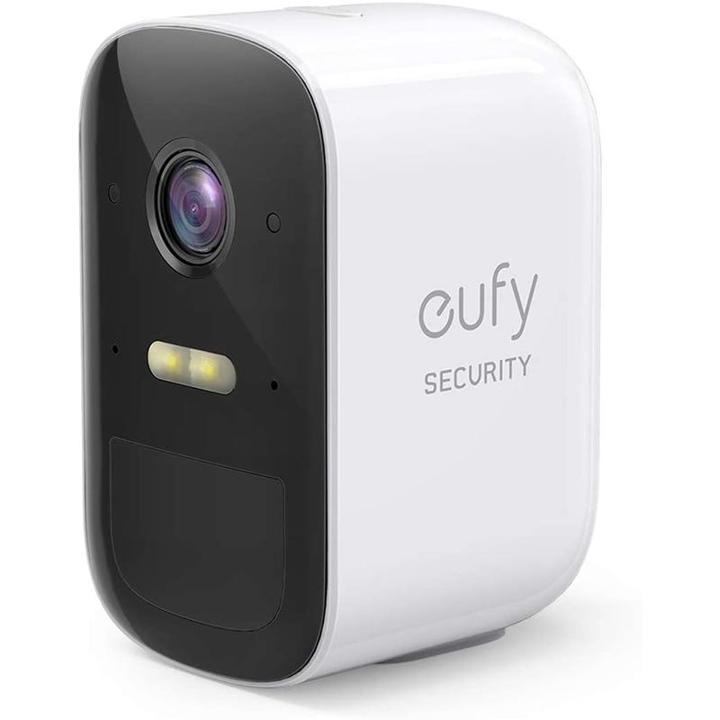 Eufy-كاميرا مراقبة لاسلكية eufyCam 2C ، جهاز أمان منزلي ، يتطلب HomeBase 2 ، بطارية 180 يوم ، (الكاميرا فقط)