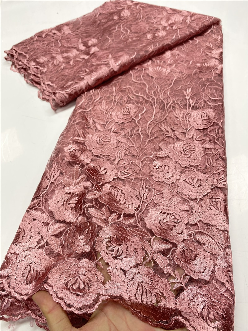 African Lace Fabric 2020 High Quality Lace Material Bridal French Nigerian Lace Fabrics For Wedding Party Sewing YA3626B-6 nigerian sequins lace fabrics 2020 high quality lace african lace fabric wedding french tulle lace material sewing ya3712b 6