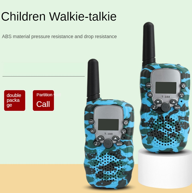 Children's Walkie-talkie Toy Real Call Parent-child Puzzle Interactive Game Boys and Girls Gifts Play House Phone