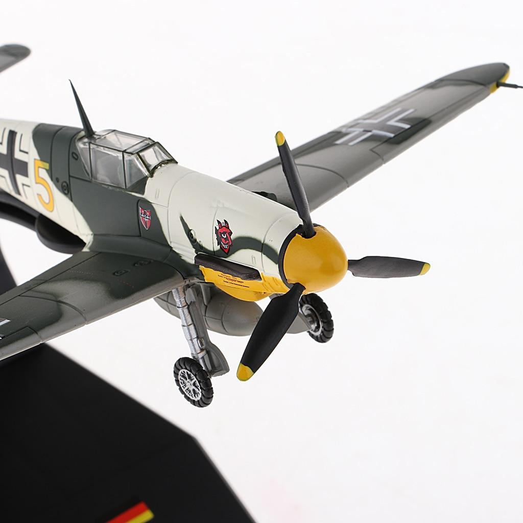 1/72 diecast combate militar Bf-109/me-109 avião, helicóptero, decoração diy, casa