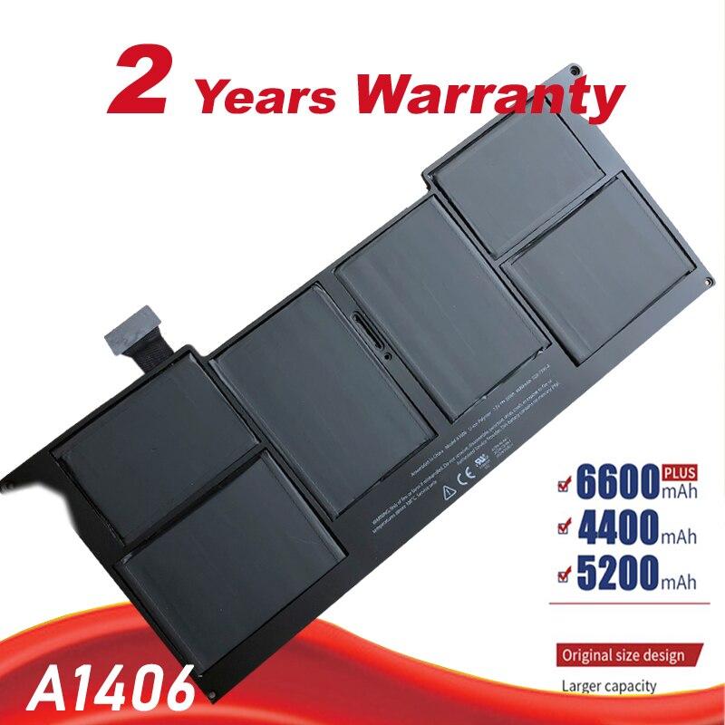 "Nueva batería portátil para Apple MacBook Air 11 ""A1465 2012 A1370 2011 reemplazo de producción A1406 A1495 batería envío gratis"