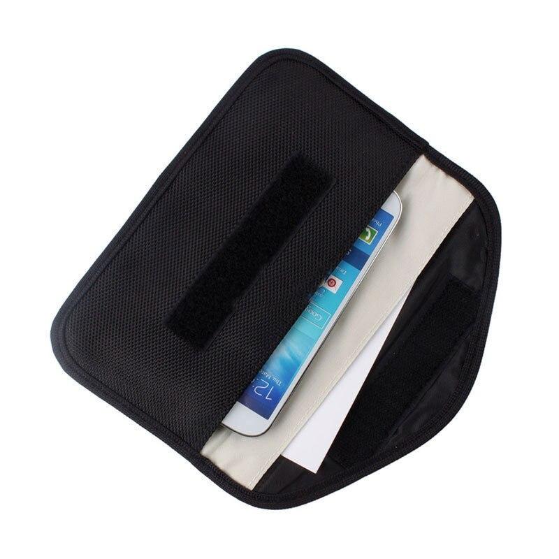 6 pulgadas GSM 3G 4G LTE GPS RF RFID señal de bloqueo bolsa Anti-radiación señal bolsa protectora cartera funda para teléfono celular