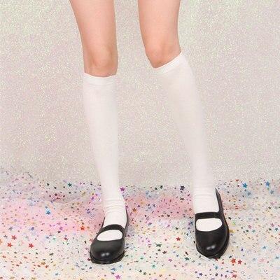 Japan Style Cute Girl Lolita JK Uniform Socks Japanese School Knee Length Stocking Maid Cosplay Kawaii Lovely Stocking