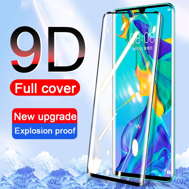 Full Cover Tempered Glass on For Huawei P30 P20 P40 Lite Pro Screen Protector Honor 10 Lite Mate 20 10 9 P Smart 2018 2019 Glass