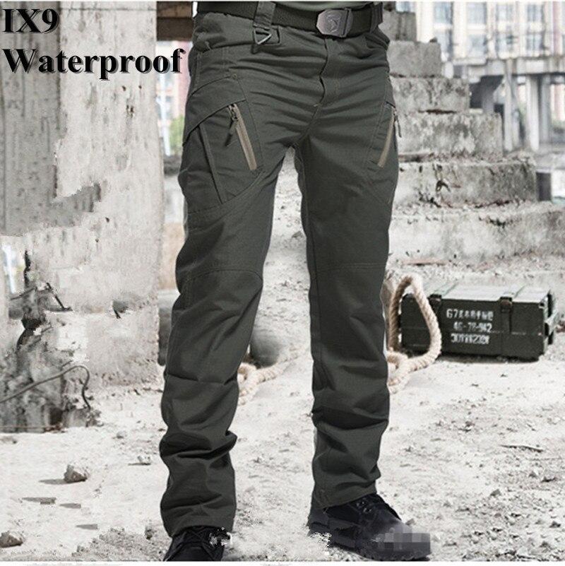 Pantalones tácticos militares de la ciudad X9, pantalones de combate de SWAT para hombres, pantalones del ejército informal para hombres, pantalones Hikling para acampar al aire libre, pantalones a prueba de agua