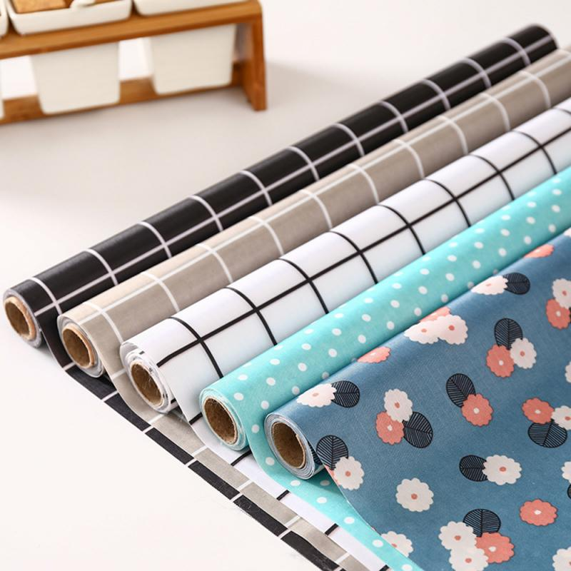 1 ud. Tela Oxford impermeable estante cajón revestimiento gabinete mesa cubierta Mat no adhesivo para cocina armario revestimiento para frigorífico
