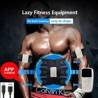 EMS     stimulateur musculaire Abdominal intelligent  appareil dentrainement pour la mise en forme du corps  pour la maison  unisexe