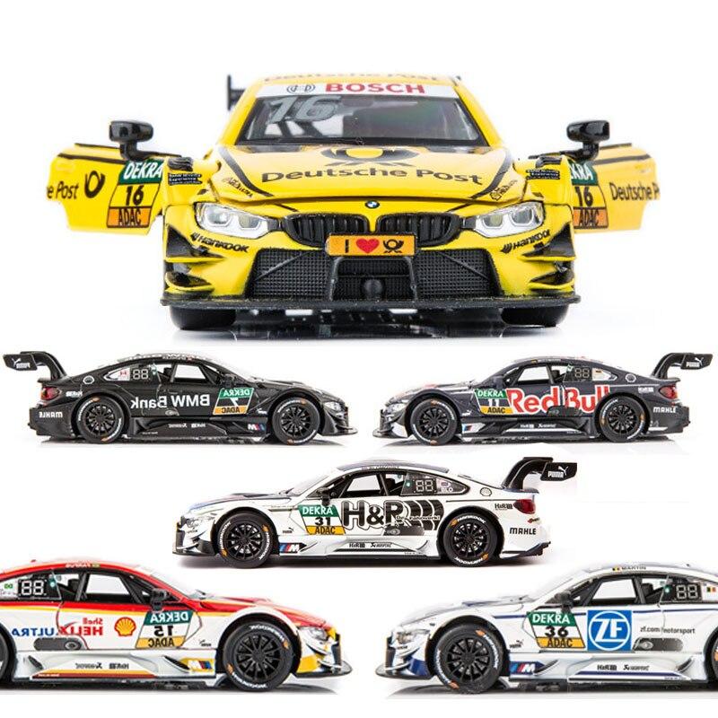 132 BMW-M4 modelo de carro liga carro de brinquedo fundido modelo de carro puxar para trás brinquedo das crianças collectibles frete grátis