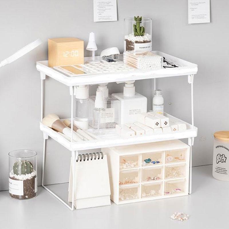 Новые модные белые дома шкаф, органайзер для хранения полки для кухни стойки Экономия пространства шкаф декоративные настенные полки