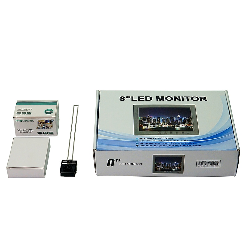 Universal CNC professional CCD camera system 1080P with 7 inch monitor 1/2.5'' lens BNC connector for CNC Router Machine enlarge