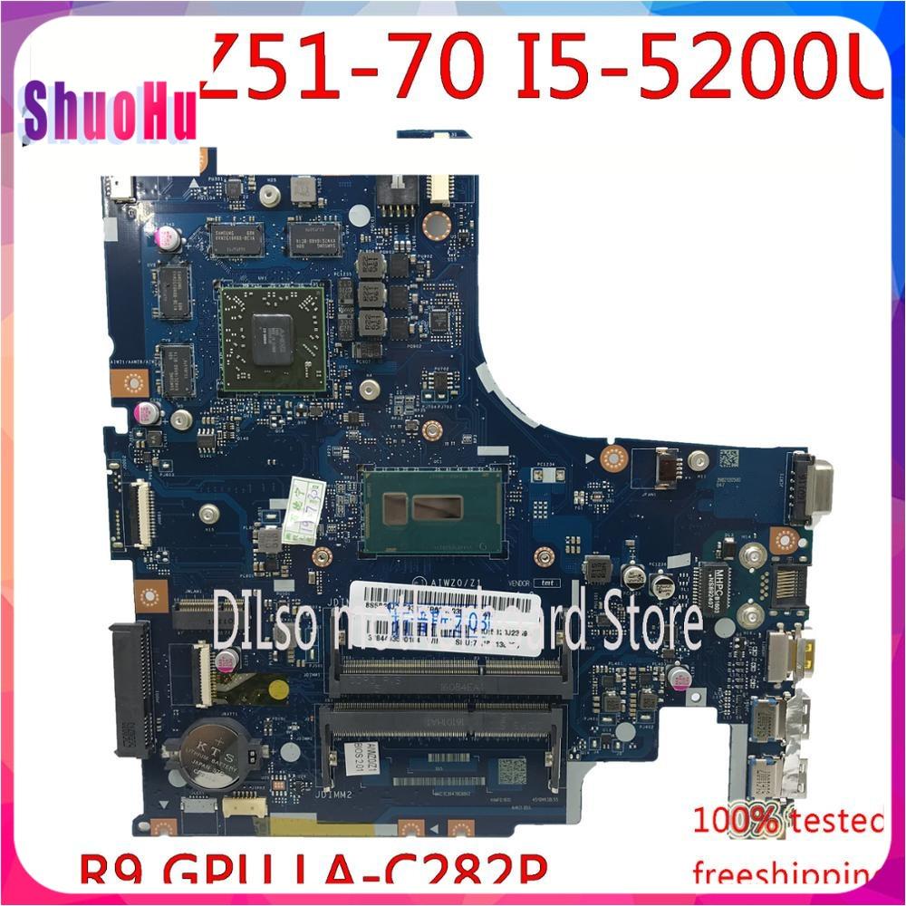 KEFU AIWZ0/Z1 LA-C282P لينوفو Z51-70 Y50C XIAOXIN V4000 دفتر اللوحة DDR3 ثينك باد HM87 إنتل I5-5200U 90 أيام R9