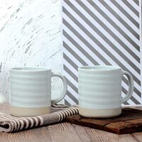 nordic creative mug white mug breakfast coffee milk cup drinkware ripple style large capacity home students