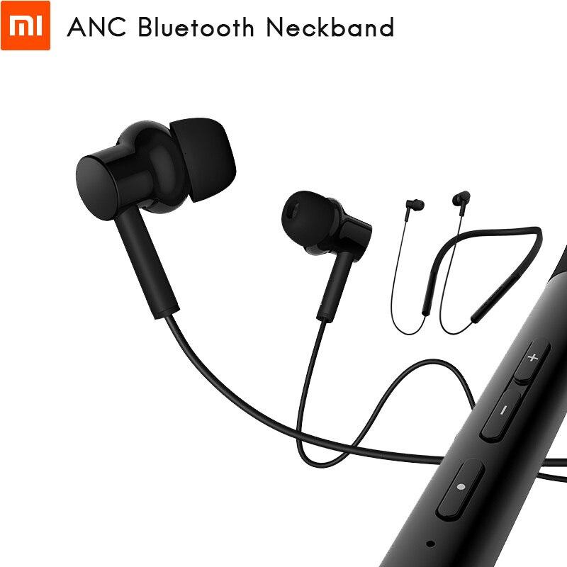Original Xiaomi ANC banda para el cuello auriculares Bluetooth auricular Digital híbrido Triple Driver LDAC cómodo desgaste hasta 20h reproducción de música