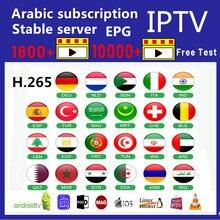 IPTV Subscripton 1 year IPTV Belgium Netherlands Spain Arabic Morocco Germany Algeria Qatar IP TV same as QHDTV M3u list SmartTV