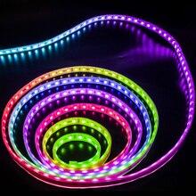 5m 2811 IC 5050 RGB LED bande lumineuse 12V WS2811 30 LED s/m Pixels Programmable individuelle adressable Diode bande lampe TV rétro-éclairage