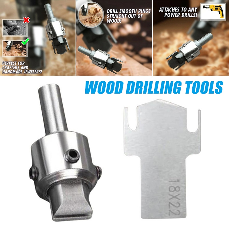 Multifunction Wooden Thick Ring Maker High Speed Steel Drill Wood Tools Woodworking Tools In Stock