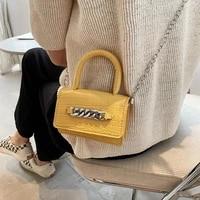 pu leather ladies chain clutch purse handbags fashion mini crossbody bags for women flap female girls small square shoulder bag